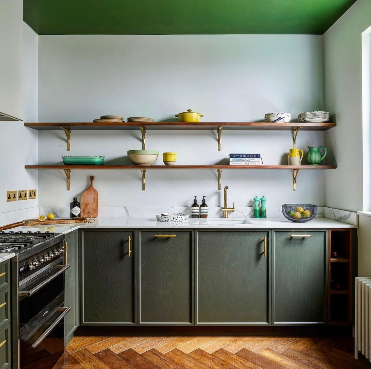 green kitchen by huntsmore design image by snook photograph