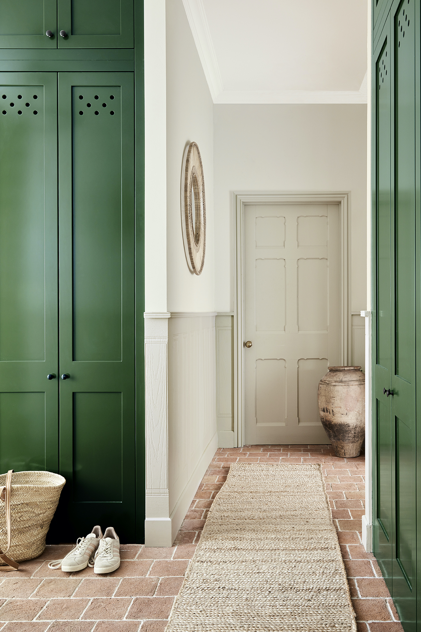 The new stone collection from little greene: brunswick green and portland stone in light and pale
