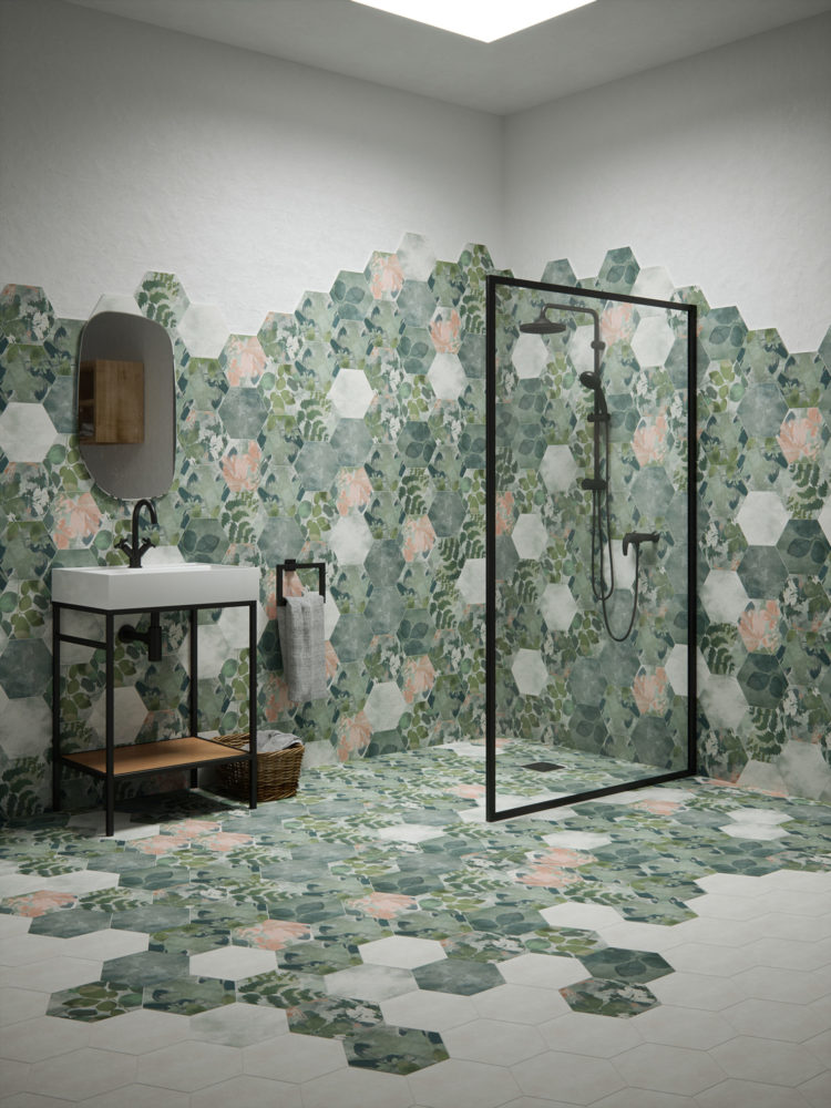 woodland glade tiles inspired by the national trust for ca pietra