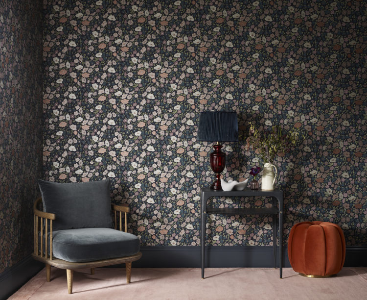 wallpaper and fabric from the new Modern Collector range at Liberty London