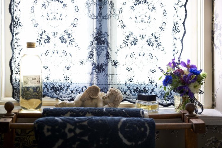 lace curtain panels from Pearl Lowe