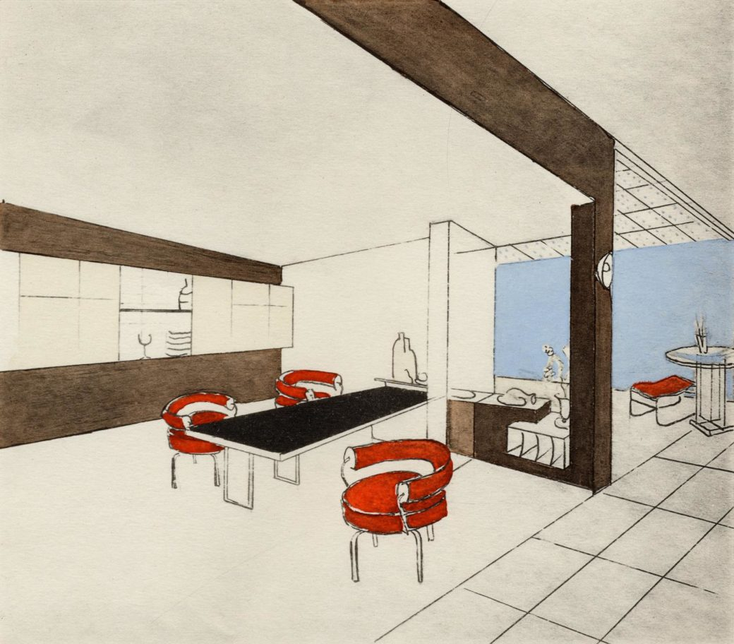 Charlotte Perriand, A Modern Life taken from the exhibition at the Design Museum London 2021